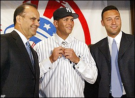 Torre, A-Rod, and Jeter